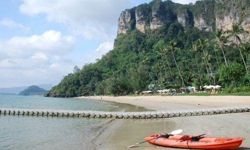 Zdjecie TAJLANDIA / Krabi / Ao Nang / Plaża 3