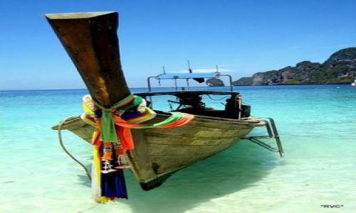 Zdjecie TAJLANDIA / wyspy phiphi / phipphi / taxi boat
