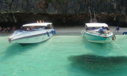 Zdjecie TAJLANDIA / Phuket / Phuket / atak lawicy na motorowke