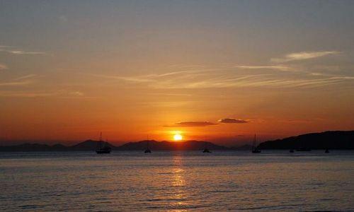 Zdjęcie TAJLANDIA / Krabi / Ao Nang / Zachód Słońca z Ao Nang