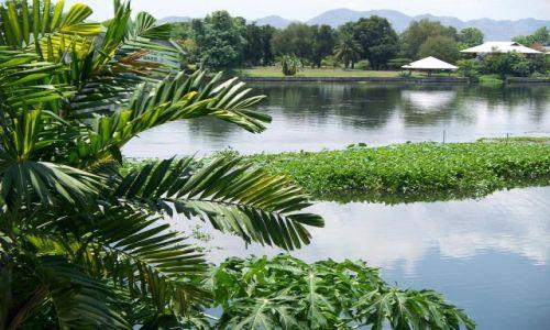 Zdjecie TAJLANDIA / brak / Kanchanaburi / nad rzeką KWAI