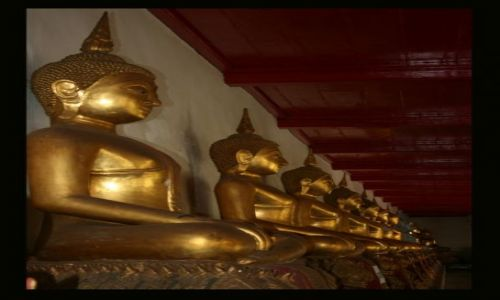 Zdjecie TAJLANDIA / brak / Bangkok / Budda