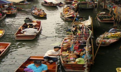 Zdjecie TAJLANDIA / Chang Mai / brak / pływający targ