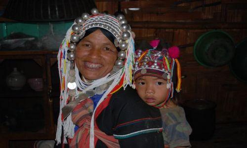 Zdjęcie TAJLANDIA / Tajlandia Środkowa / Tajlandia / Mieszkanki z Plemienia Yao