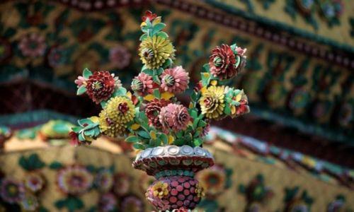 Zdjecie TAJLANDIA / brak / Bangkok / element buddyjskiej świątyni