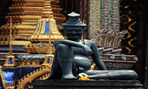 Zdjecie TAJLANDIA / brak / Bangkok / element buddyjs