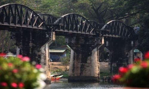 Zdjecie TAJLANDIA / prowincja Kanchanaburii / Bangkok / most na rzece Kwai