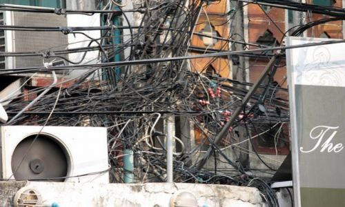 Zdjecie TAJLANDIA / - / Bangkok / elektryfikacja Bangkoku..:)