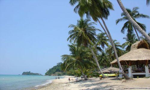 Zdjecie TAJLANDIA / brak / Koh Chang / Plaża na Koh Chang
