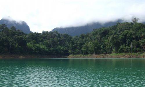 Zdjęcie TAJLANDIA / khao sok / nad jeziorem / tajlandia