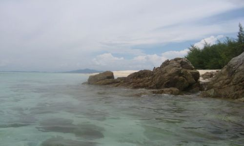 Zdjecie TAJLANDIA / Phi Phi / Bamboo Island / Wyspa Bambusowa
