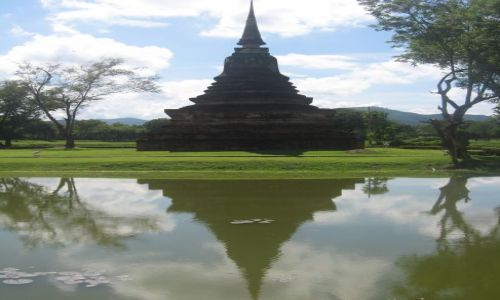 Zdjecie TAJLANDIA / Sukhothai / Historical park / Ruiny sukhothai