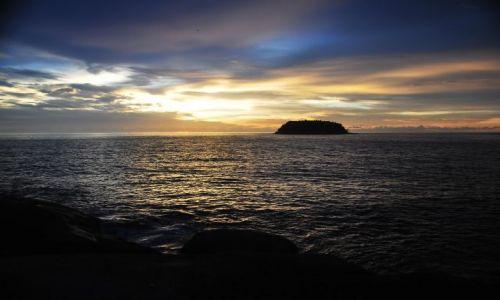 Zdjecie TAJLANDIA / Phuket / Kata beach / sun set