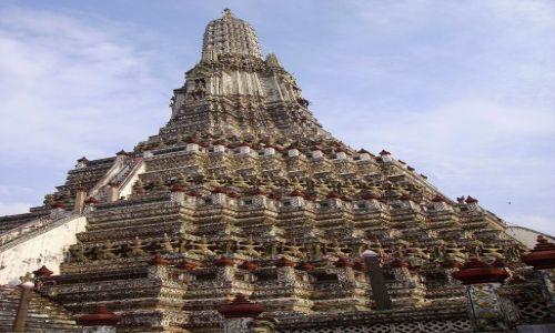Zdjecie TAJLANDIA / Bangkok / światynia Szczęsliwego Poranku / światynia Wat Arun