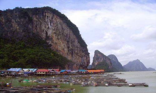 Zdjecie TAJLANDIA / południowa Tajlandia / Koh Panyee / pływająca wioska Koh Panyee