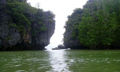 TAJLANDIA / południowa Tajlandia / Ao Phang-Nga National Park / przesmyk