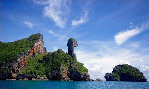 Zdjecie TAJLANDIA / Krabi / Chicken Island / Konkurs