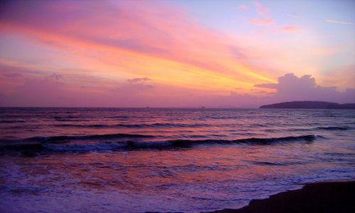 Zdjęcie TAJLANDIA / południowa Tajlandia / Ao Nang / zachód słońca w Ao Nang