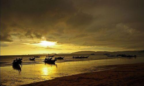 Zdjecie TAJLANDIA / - / Ao Nang / Przed burzą w Ao Nang