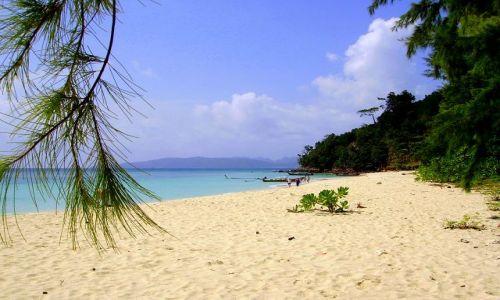 Zdjecie TAJLANDIA / południowa Tajlandia / Bamboo Island / idąc brzegiem ....