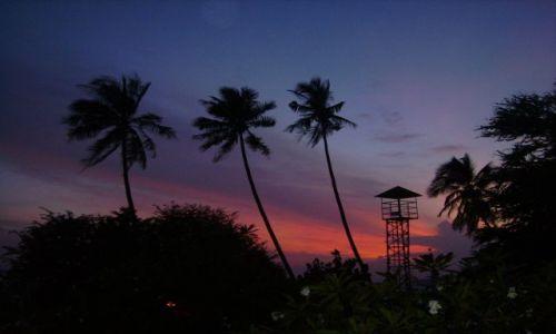 Zdjęcie TAJLANDIA / południowa Tajlandia / Ao Nang / już po zachodzie słońca- trochę kiczowaty widok, ale ma urok