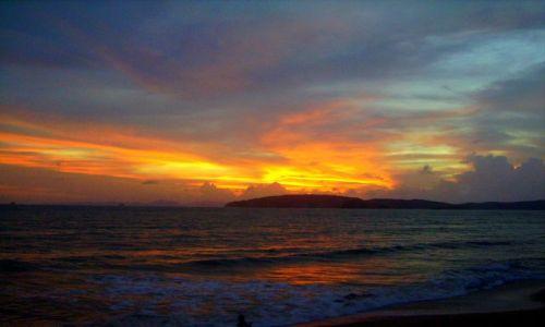 Zdjecie TAJLANDIA / południowa Tajlandia / Ao Nang / ostatnie promienie słońca