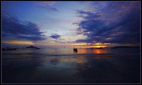 Zdjęcie TAJLANDIA / Krabi / Ao Nang / Koniec dnia w Ao Nang