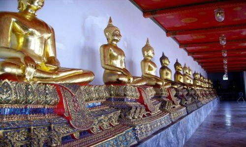 Zdjecie TAJLANDIA / Bangkok / zespól Pałacowo-świątynny / wielu ....