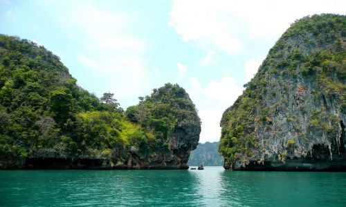 Zdjecie TAJLANDIA / Krabi / Okolice Rai Le Beach / Imponuj�ce ska�