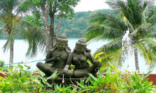 TAJLANDIA / Phuket / obrzeża miasta / Relaks w ogrodzie