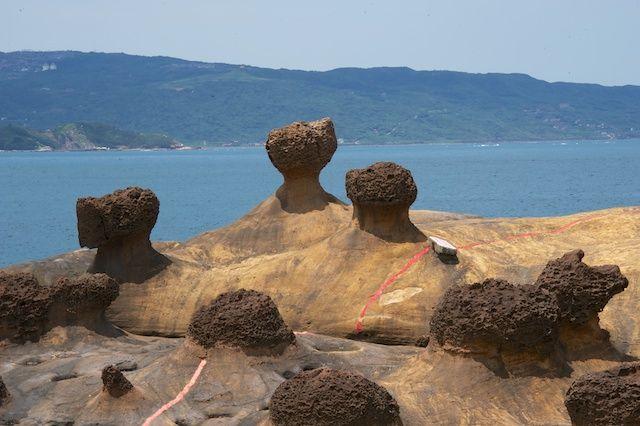 Zdjęcia: Yehliu, Wanli, Formacje skalne (Yehliu), TAJWAN