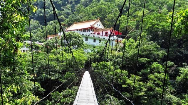 Zdjęcia: Park Narodowy Taroko, wschodnia część, Świątynia, TAJWAN