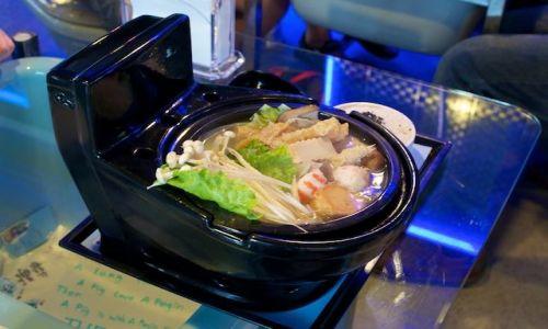 Zdjęcie TAJWAN / - / Taipei / Restauracja 'Modern Toilet' (Taiwan)