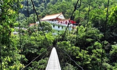 TAJWAN / wschodnia część / Park Narodowy Taroko / Świątynia