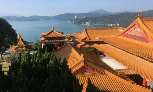 TAJWAN / - / Sun Moon Lake / Wen Wu Temple