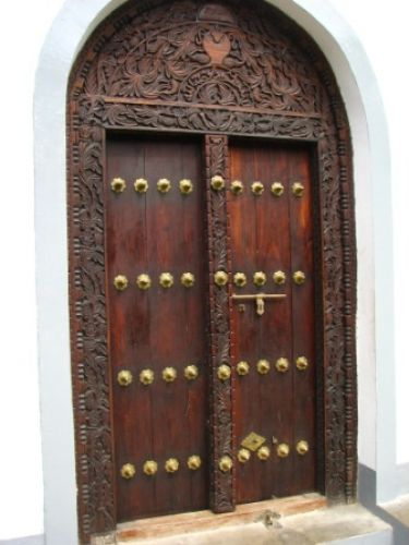 Zdj�cia: Zanzibar, , drzwi, Stone Town, TANZANIA
