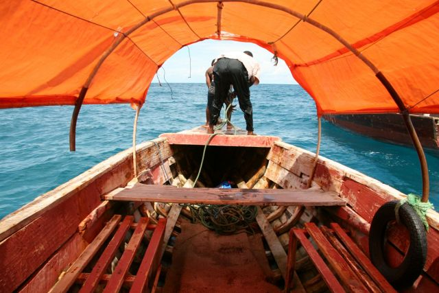 Zdjęcia: Zanzibar, ta stara łajba, TANZANIA