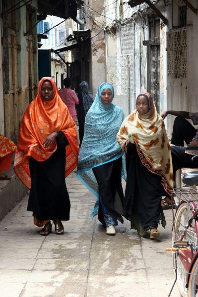 Zdjęcia: Zanzibar, kobiety z Zanzibaru, TANZANIA