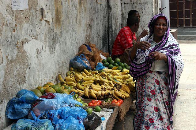 Zdjęcia: Zanzibar, ulica Stone Town, TANZANIA