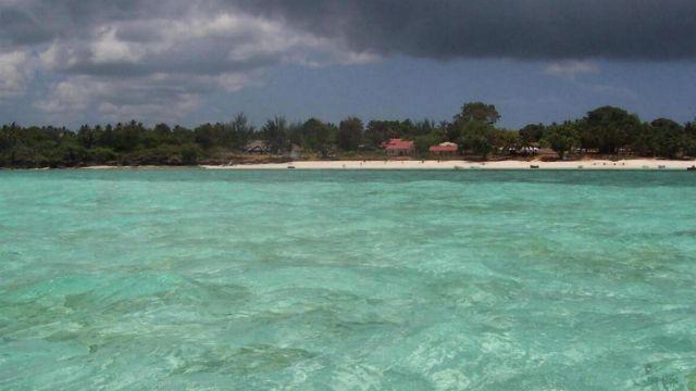 Zdjęcia: Jambiani, Zanzibar, malowana woda, TANZANIA
