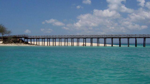Zdjęcia: Wyspa Skazańców, Zanzibar, molo, TANZANIA