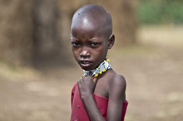 Zdjęcia: Ngorongoro, Ngorongoro, Z wizytą w masajskiej wiosce, TANZANIA