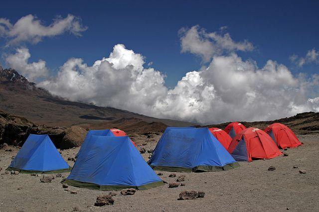 Zdjęcia: Obóz na Marango Road, Masyw Kilimandżaro, Kilimandżaro 3, TANZANIA