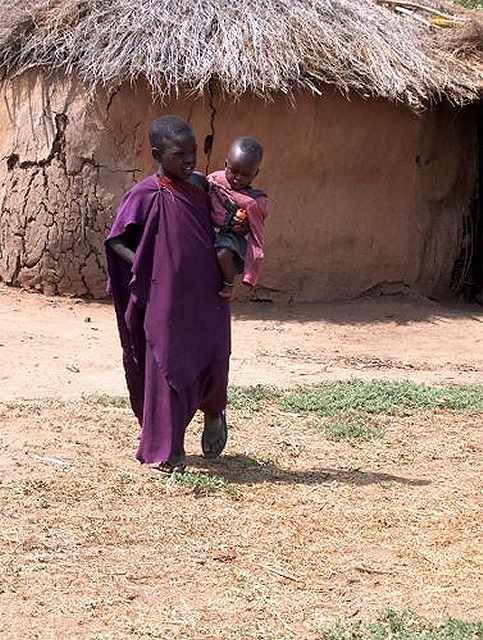 Zdj�cia: Longido, w masajskiej wiosce, TANZANIA