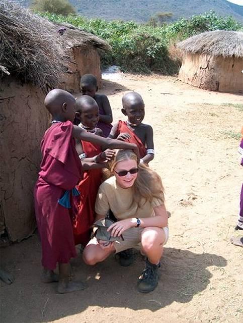 Zdj�cia: Longido, wioska masajska, TANZANIA