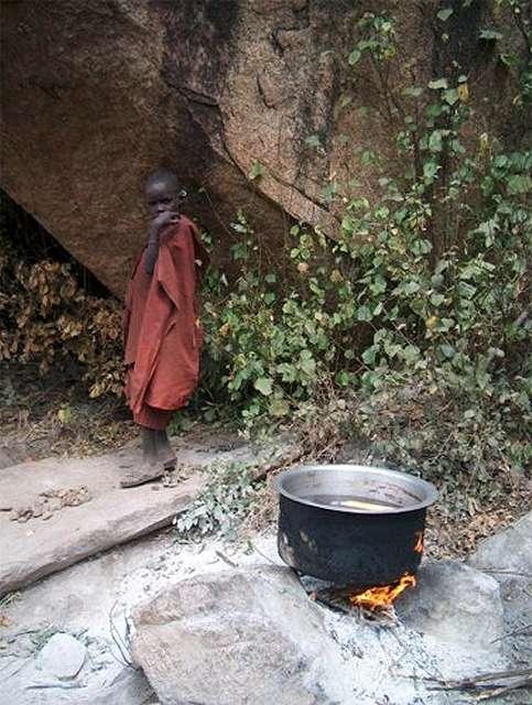 Zdjęcia: Longido, w obozie Moranów, TANZANIA