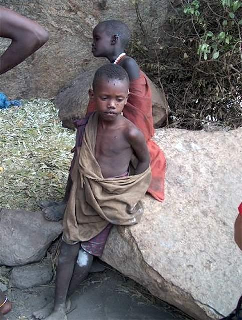 Zdjęcia: Longido, masajscy chłopcy, TANZANIA