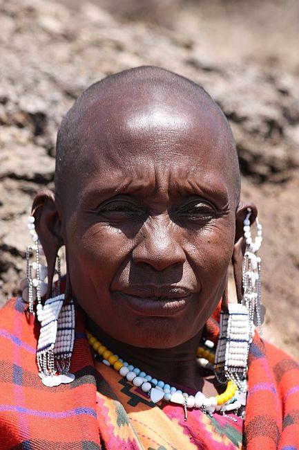 Zdjęcia: Gdzieś w Tanzanii, W dekoracjach, TANZANIA