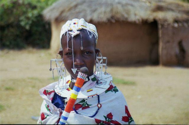 Zdjęcia: Longido, uroczysty dzień w masajskiej wiosce, TANZANIA