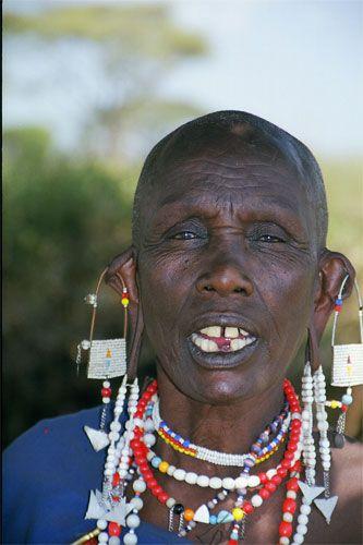 Zdjęcia: Longido, masajska kobieta, TANZANIA